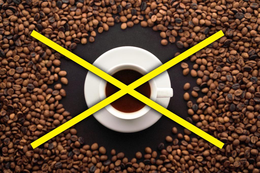 кофе выводит кальций